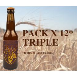 Pack x 12 Triple